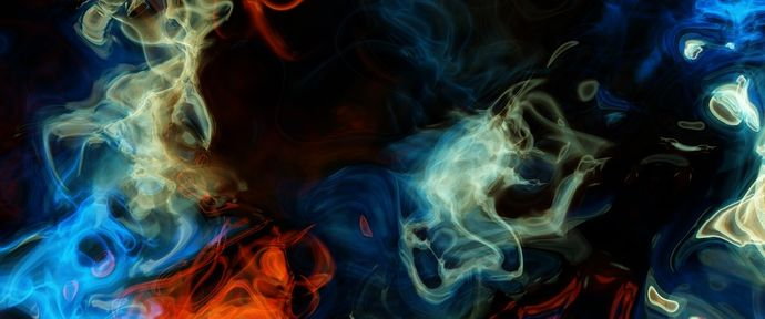 Abstract smoke effect